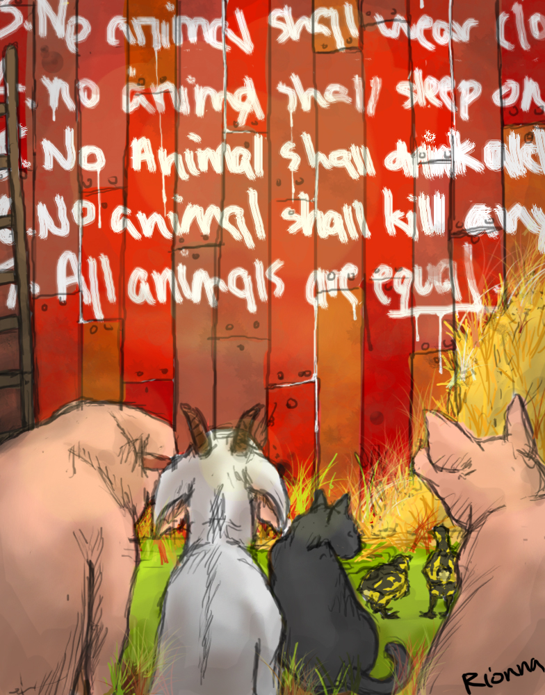 barnyard communism george orwells animal farm essay